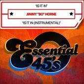 Is It In / Is It In (Digital 45) by Jimmy Bo Horne