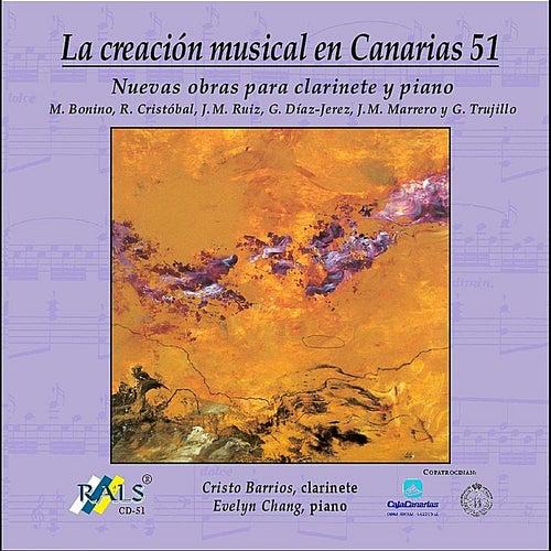 Nuevas obras para clarinete y piano by Cristo Barrios
