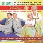 Das fröhliche Kleeblatt der Volksmusik by MARIA u MARGOT HELLWIG u DUO TREIBSAND