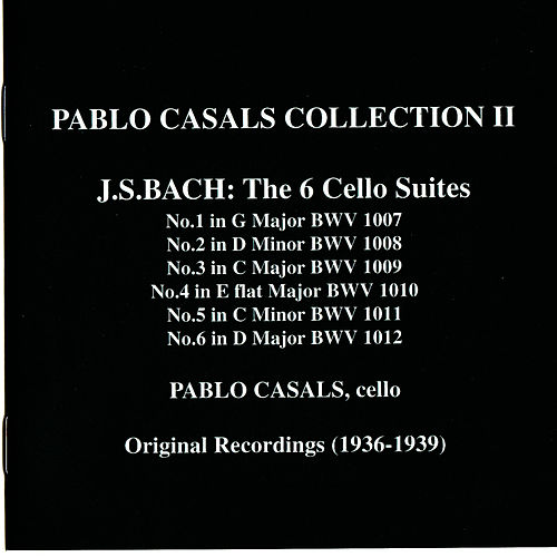 Pablo Casals Collection II by Pablo Casals