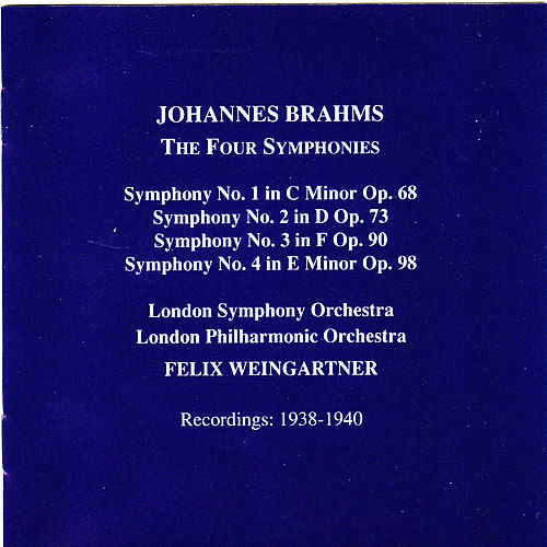 Brahms: The Four Symphonies by Various Artists