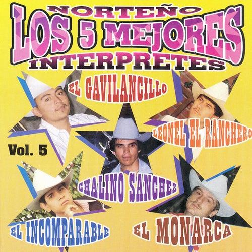 Norteño Los 5 Mejores Interpretes Vol. 5 by Various Artists