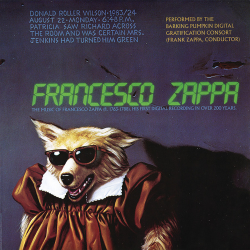 Francesco Zappa by Frank Zappa