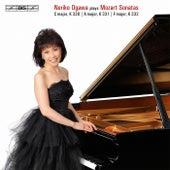 Mozart: Sonatas C major, K. 330 - A major, K. 331 - F major, K. 332 by Noriko Ogawa
