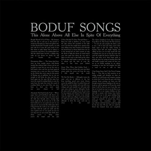 This Alone Above All Else in Spite of Everything by Boduf Songs