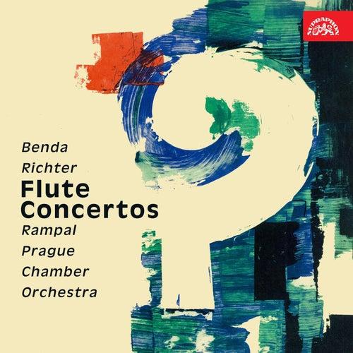 Benda, Richter: Flute Concertos by Jean-Pierre Rampal