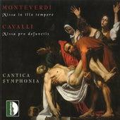 Monteverdi: Missa in illo tempore / Cavalli: Missa pro defunctis by Cantica Symphonia