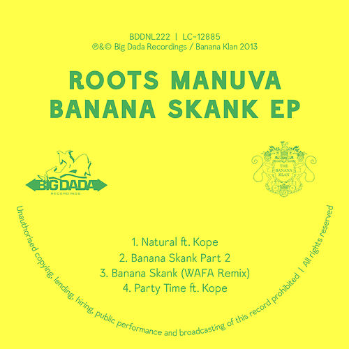 Banana Skank EP by Roots Manuva