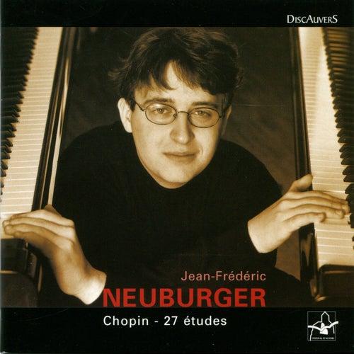 Chopin: 27 études, Jean Frédéric Neuburger by Jean-Frédéric Neuburger