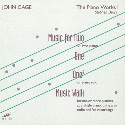 The Complete John Cage Edition Volume 13: The Piano Works 1 by Stephen Drury