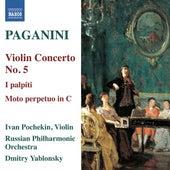 Paganini: Violin Concerto No. 5 - I palpiti by Ivan Pochekin