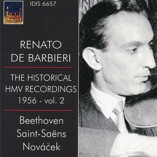 The Historical HMV Recordings 1956 - Vol. 2 by Renato de Barbieri