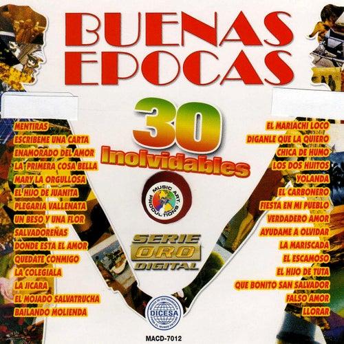 Buenas Epocas 30 Inolvidables by Various Artists