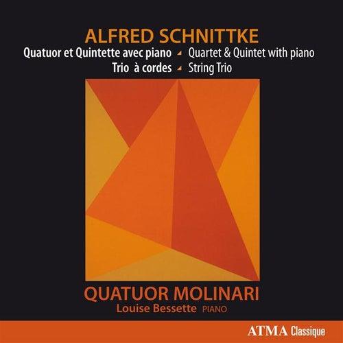 Schnittke: Quatuor et Quintette avec piano - Trio à cordes by Molinari Quartet