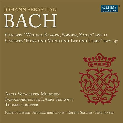 Bach: Cantatas, BWV 12 & 147 by Various Artists