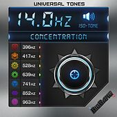 14hz - Concentration Frequency - Solfeggio Series - Iso Tones by Universal Tones