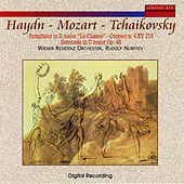 Haydn/Mozart/Tchaiko: La Chasse/Concerto KV 218/Serenade in C Major Op. 48 by Weiner Residenz Orchester