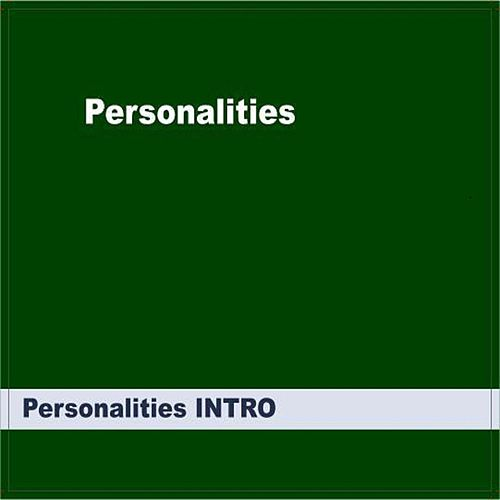 Personalities INTRO by Personalities
