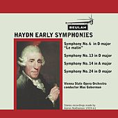 Haydn: Early Symphonies by Vienna State Opera Orchestra