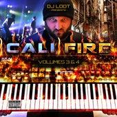DJ Loot Presents: Cali Fire: Vol. 3 & 4 by Various Artists