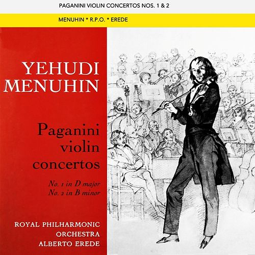 Paganini Violin Concertos by Yehudi Menuhin