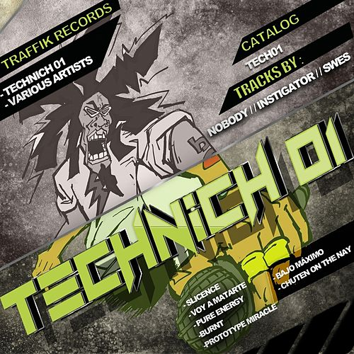 Technich 01 (Hardtechno - Schranz) by Various Artists