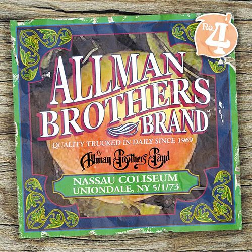 Nassau Coliseum, NY 5/1/73 by The Allman Brothers Band