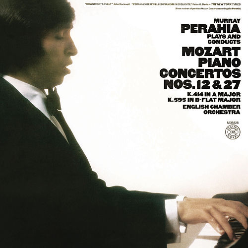 Murray Perahia Plays and Conducts Mozart: Piano Concertos Nos. 12 & 27 by Murray Perahia