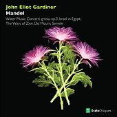 Handel : Water Music, Concerti grossi, Israel in Egypt, The Ways of Zion Do Mourn & Semele von John Eliot Gardiner