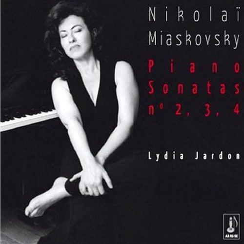 Miaskovsky: Piano Sonatas No. 2, 3 & 4 by Lydia Jardon