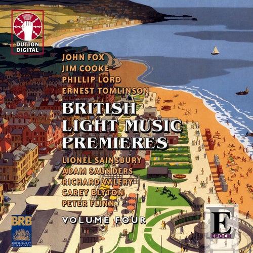 British Light Music Premieres, Vol. 4 by Royal Ballet Sinfonia