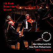 J.S. Bach, Schoenberg, Mozart by New York Philharmonic