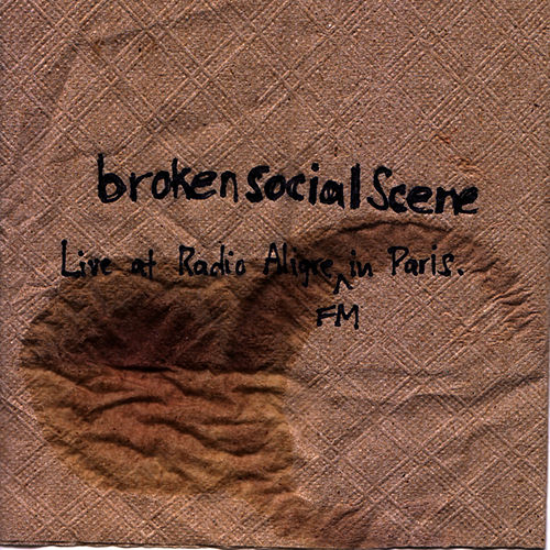 Live at Radio Aligre FM in Paris by Broken Social Scene