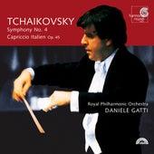 Tchaikovsky: Symphony No. 4; Capriccio Italien, Op. 45 by Daniele Gatti