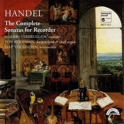 Handel: The Complete Sonatas for Recorder by Various Artists
