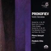 Prokofiev: Violin Sonatas by Frederic Chiu and Pierre Amoyal