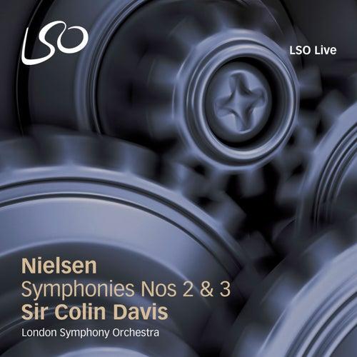 Nielsen: Symphonies Nos 2 & 3 by Sir Colin Davis