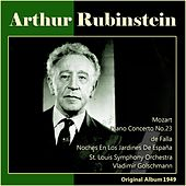 De Falla: Noches En Los Jardines De España - Mozart: Piano Concerto No. 23 (Original Album 1949) by Arthur Rubinstein