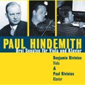 Paul Hindemith - Drei Sonaten by Benjamin und Paul Rivinius