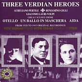Three Verdian Heroes by Various Artists