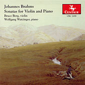 Johannes Brahms: Sonatas For Violin And Piano by Johannes Brahms