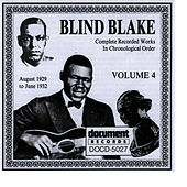 Blind Blake Vol. 4 (1929 - 1932) by Blind Blake