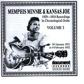 Memphis Minnie and Kansas Joe Vol. 3 (1931 - 1932) by Memphis Minnie