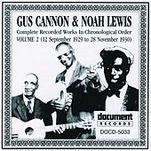 Gus Cannon & Noah Lewis Vol. 2 (1929 - 1930) by Various Artists
