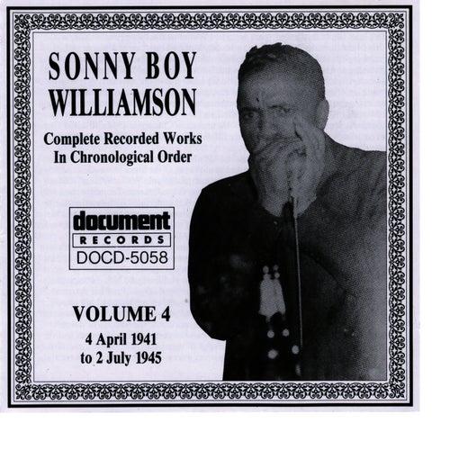 Sonny Boy Williamson, Vol. 4: 1941 - 1945 by Sonny Boy Williamson