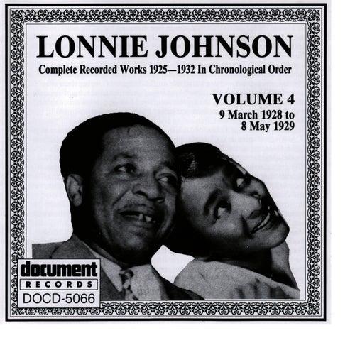 Lonnie Johnson Vol. 4 (1928 - 1929) by Lonnie Johnson