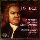 Johann Sebastian Bach:  Inventions, Sinfonias, Little Preludes by Johann Sebastian Bach