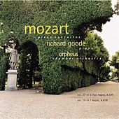 Mozart Piano Concertos: No. 27 in b-flat Major, K. 595; No. 19 in F Major, K. 459 by Richard Goode