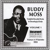 Buddy Moss Vol. 1 1933 by Buddy Moss