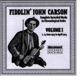 Fiddlin John Carson Vol. 1 1923 - 1924 by Fiddlin' John Carson